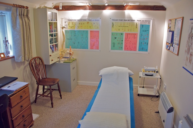 Angela Waite Physiotherapy treatment clinic in North Walsham